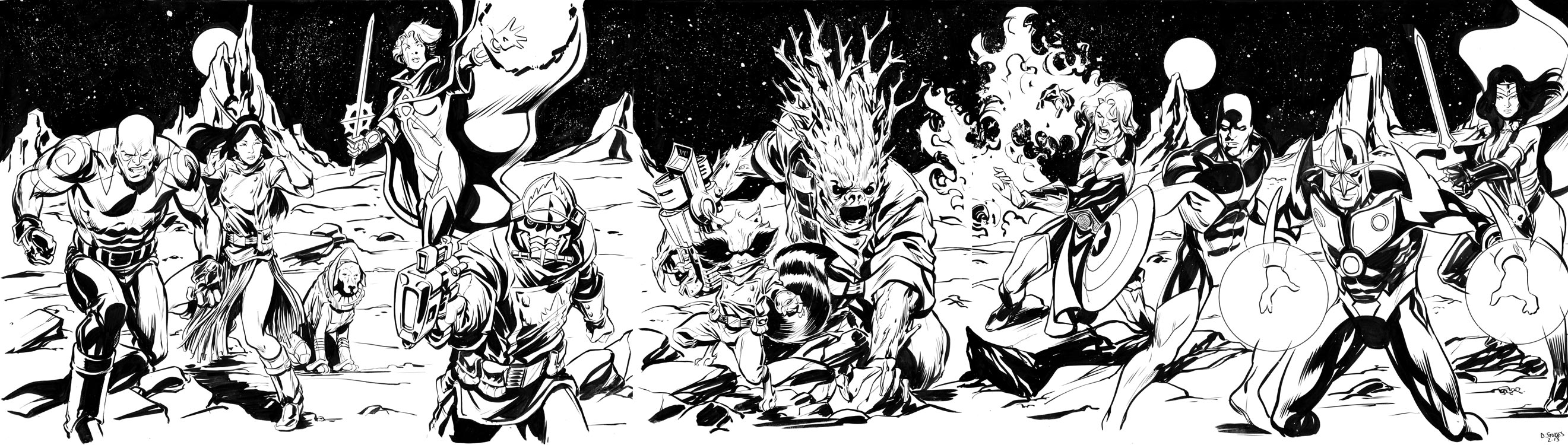 Coloring pages guardians of the galaxy - Guardians Of The Galaxy By Stokesbook On Deviantart Guardians Galaxy Coloring Pages