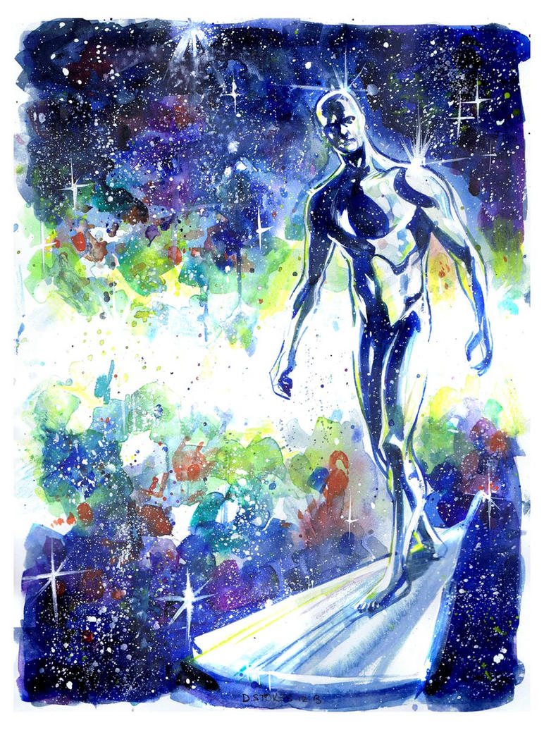Silver Surfer by stokesbook