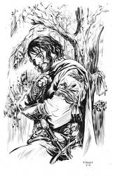 Aragorn by stokesbook