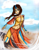 Air Bender Oc by Sola-Alona
