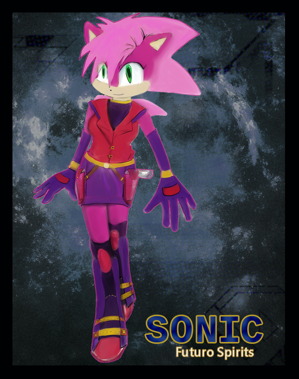 FuturoSpiritSonic: Sonia the Hedgehog by Sola-Alona