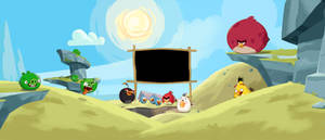 BG Angry Birds:Toons