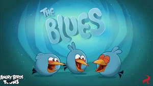 Wallpaper:The Blues by nikitabirds