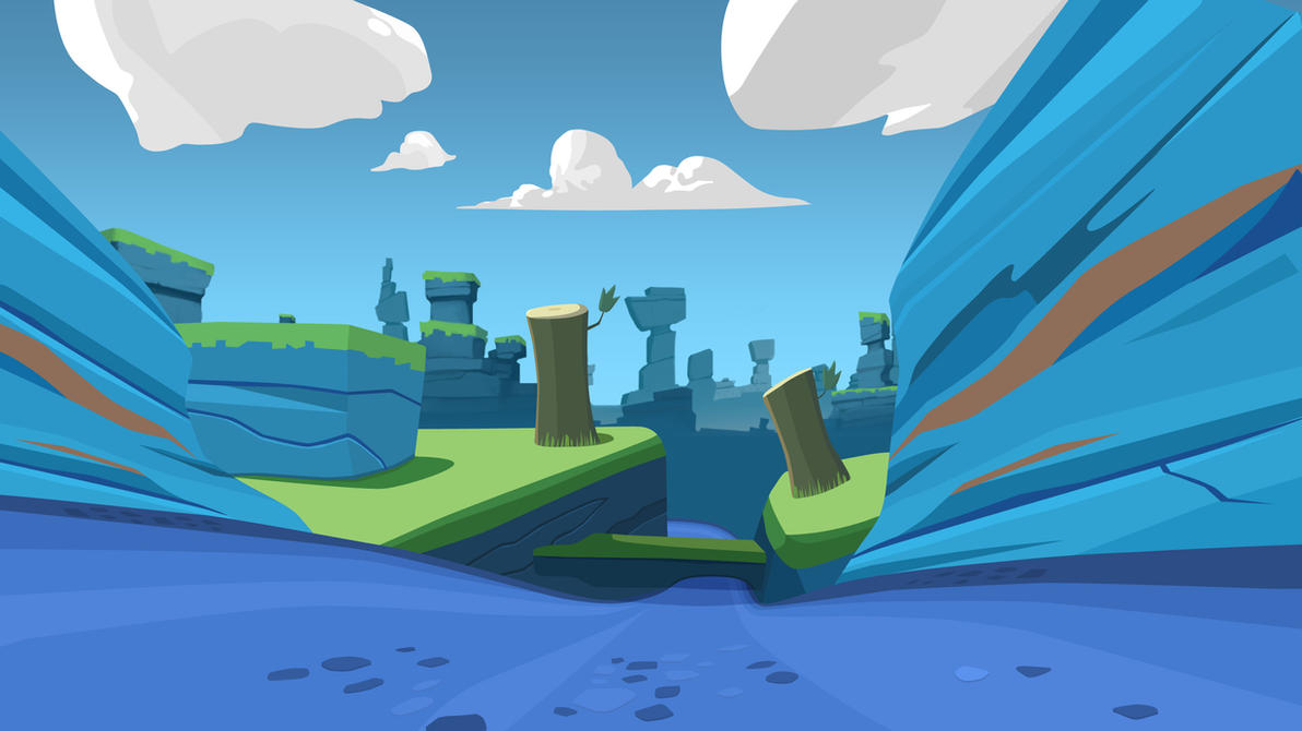 Background  Angry Birds GO by nikitabirdsAngry Bird Background