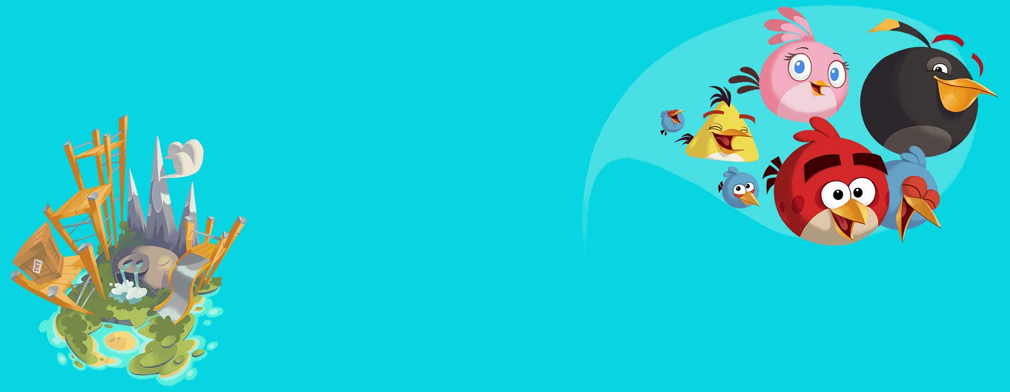 [Angry Birds] Piggy Island by nikitabirds