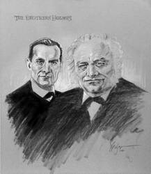 The Brothers Holmes by Duncan-Eagleson