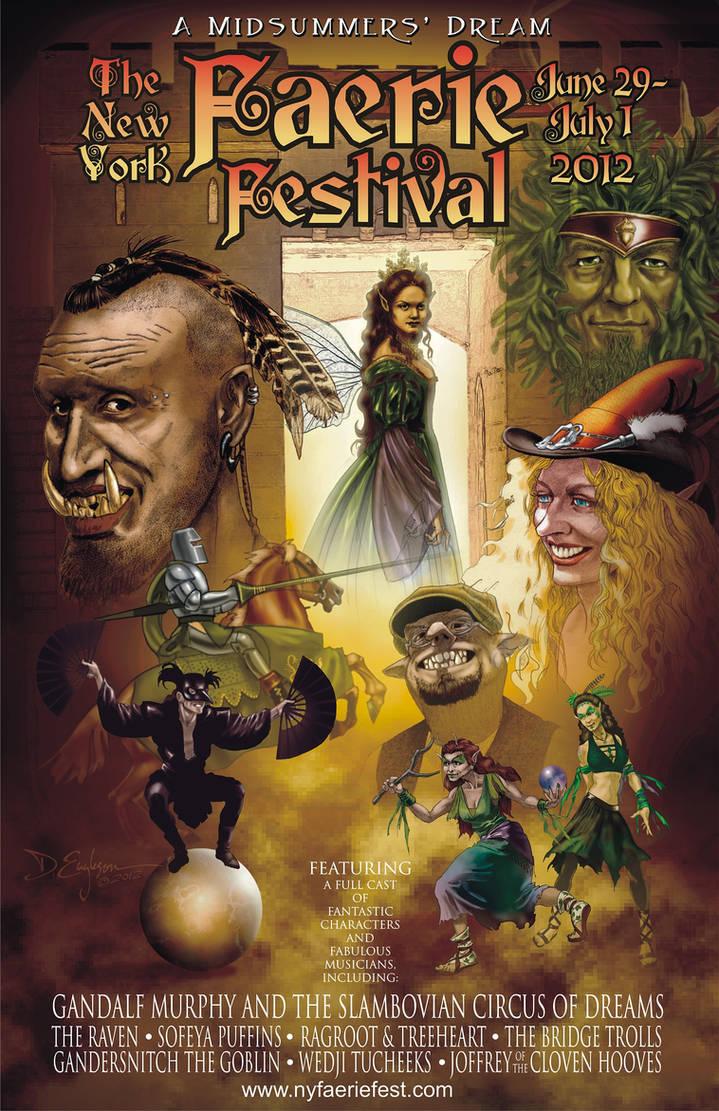 New York Faerie Festival Poster