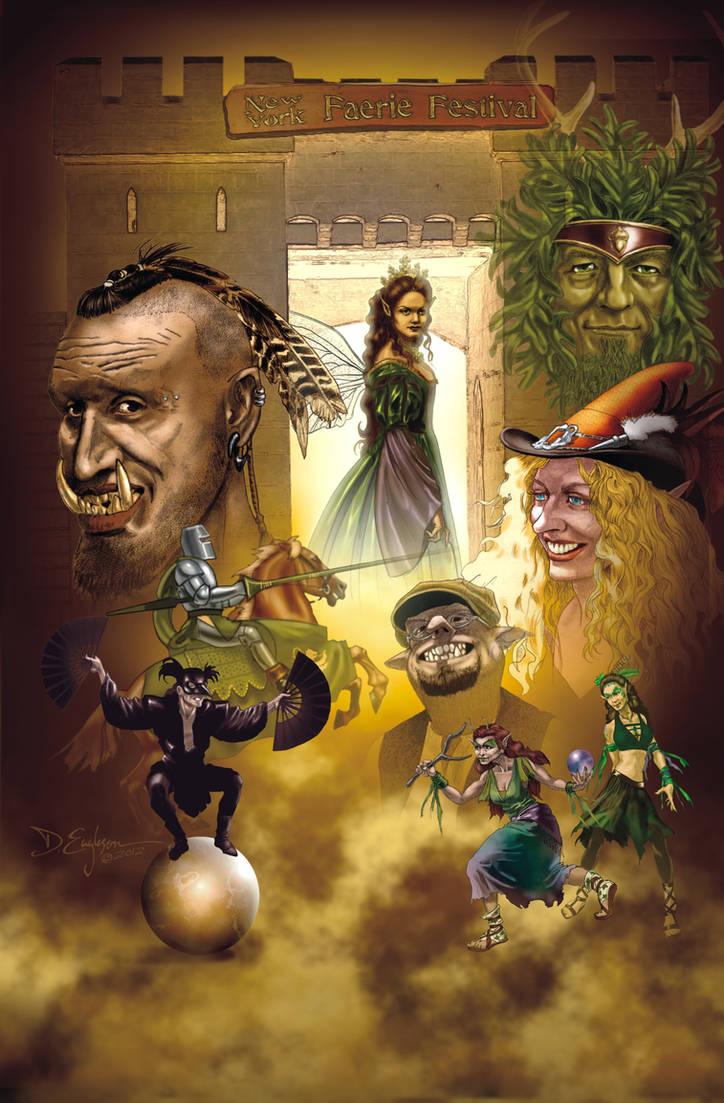 New York Faerie Festival Poster 2012