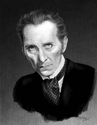 Peter Cushing by Duncan-Eagleson