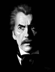 Christopher Lee by Duncan-Eagleson