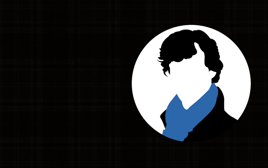 Minimalist sherlock wallpaper by xxtastesliekburning on for Minimal art reddit
