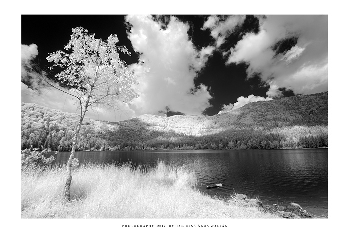 Lake St. Anna - IR by DimensionSeven