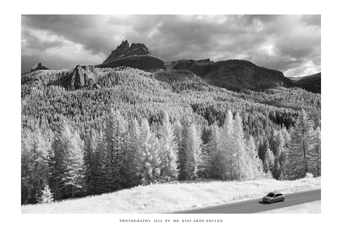 Pocol, Dolomites - IR by DimensionSeven