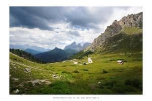 Passo Pordoi, Dolomites - II by DimensionSeven