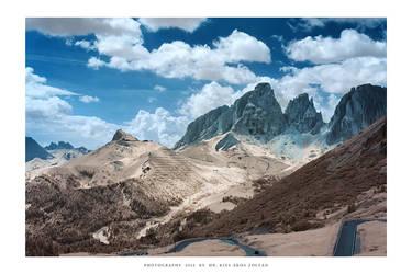 Passo Pordoi, Dolomites - IR III by DimensionSeven