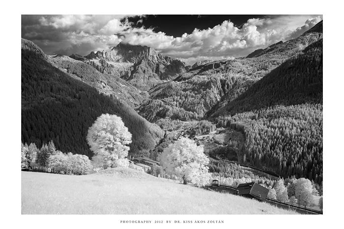 Monte Civetta, Dolomites - IR II by DimensionSeven