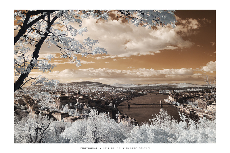 Budapest - IR LII by DimensionSeven