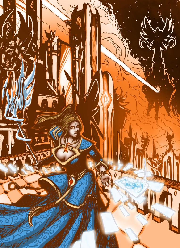 Omen - Diablo III Reaper of Souls by Najlock
