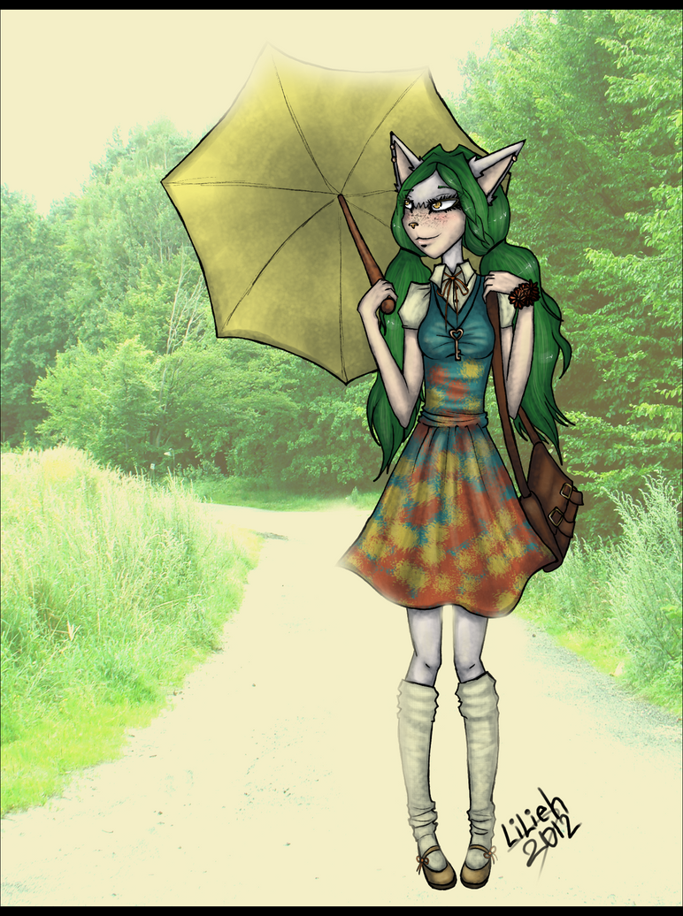 s rq on my way to school by lilieh on deviantart