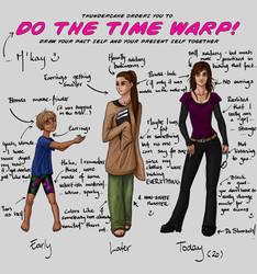 time warp meme by noeran