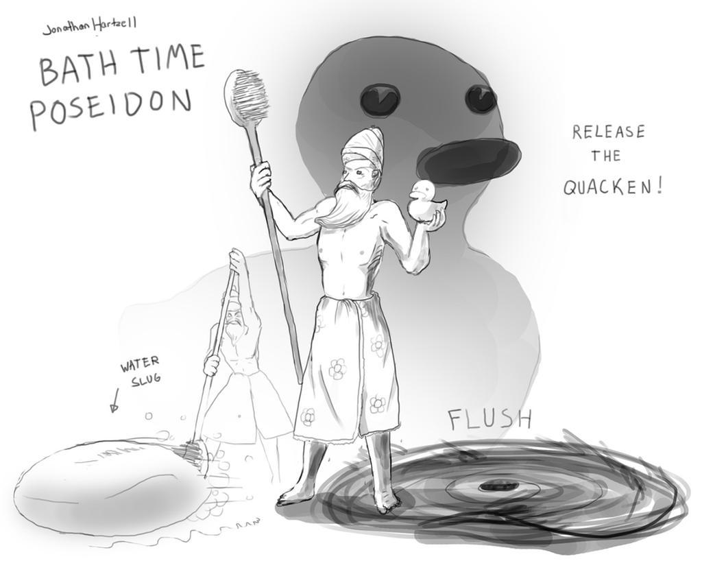 Bath Poseidon by JonHartzell