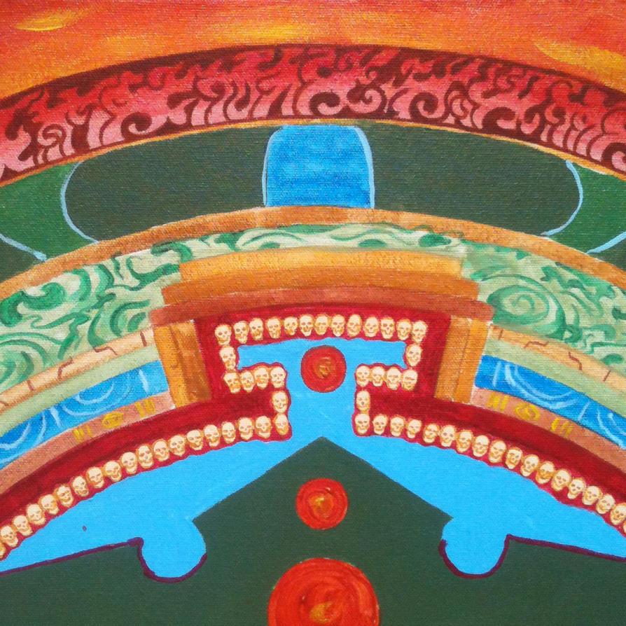 Mahakala Mandala Round Detail 1 By HartwellArts On DeviantArt