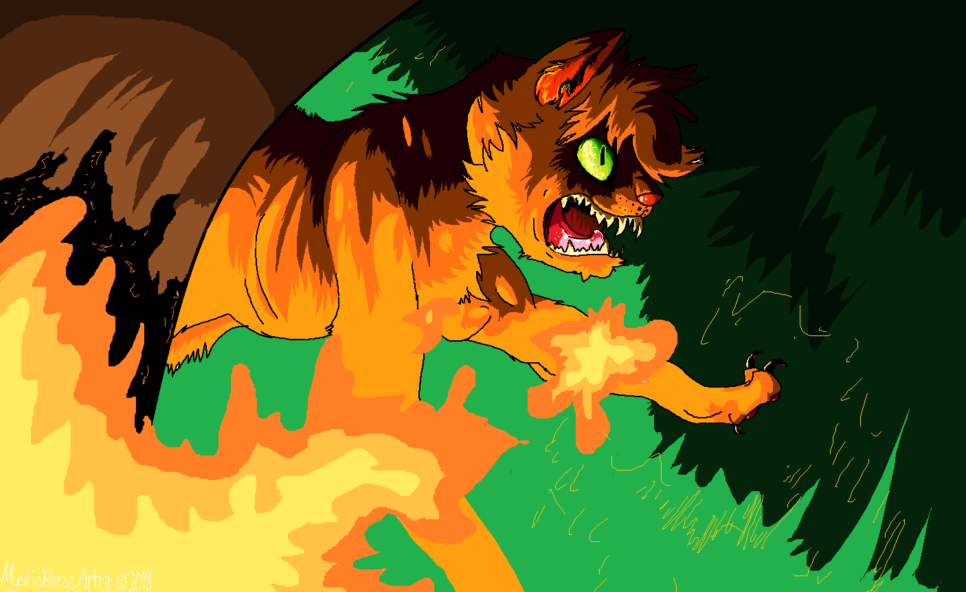 Firestar Warrior Cats Wiki