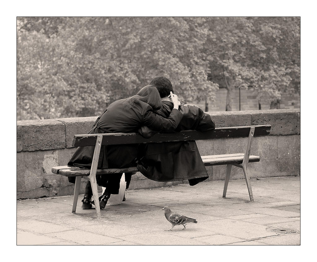 Les amoureux des bancs publics by lilous on deviantart - Les amoureux des bancs publics brassens ...