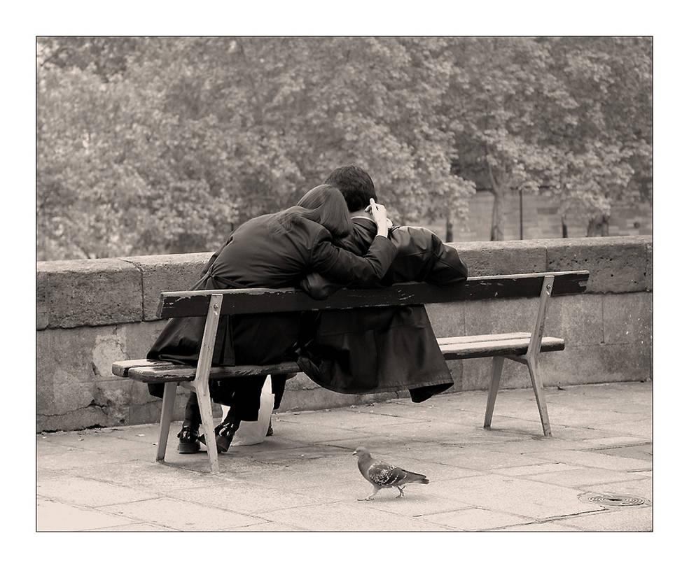 Les Amoureux Des Bancs Publics By Lilous On Deviantart