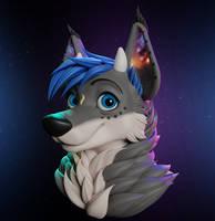Galaxia 3D Bust by VladLad