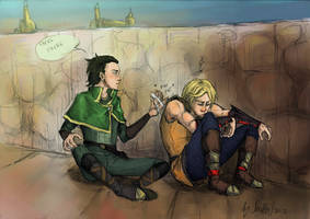 There there by Sanzo-Sinclaire