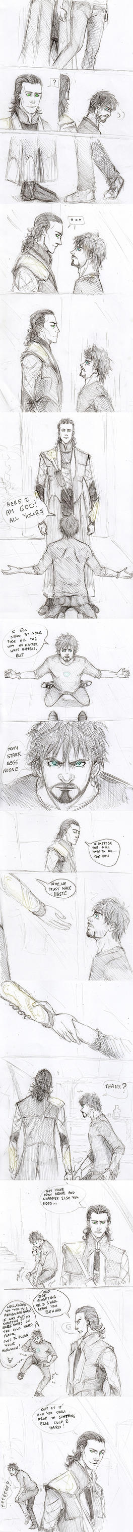 Tony Stark goes Renegade by Sanzo-Sinclaire