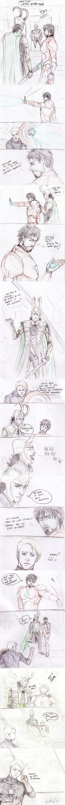 Tony Stark goes Renegade part 2 by Sanzo-Sinclaire