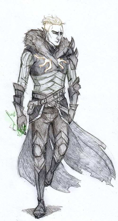 Inquisitor Lavellan by Sanzo-Sinclaire