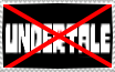 i hate undertale fans stamp (f2u) by dogjaws