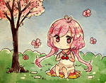 Sakura by Ekkoberry