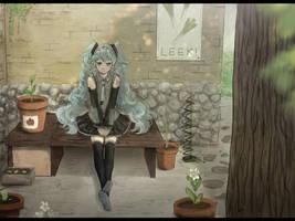 Happy Birthday Miku! by Ekkoberry
