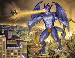 Xbuimon Attacks by X-Buimon-Sama