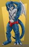 Exveemon commission by Galgard