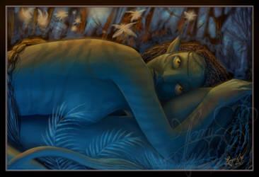 Neytiri's Lust by Jennyeight