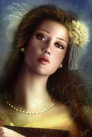 Belle Portrait by Jennyeight