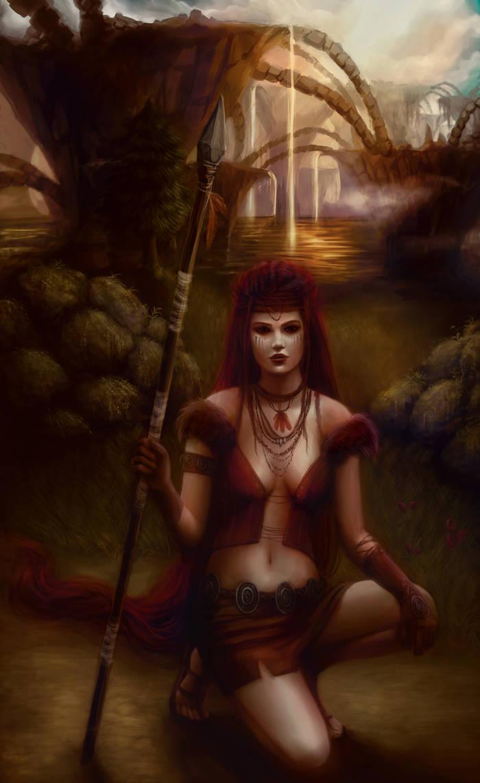 Jungle Warrior by Jennyeight