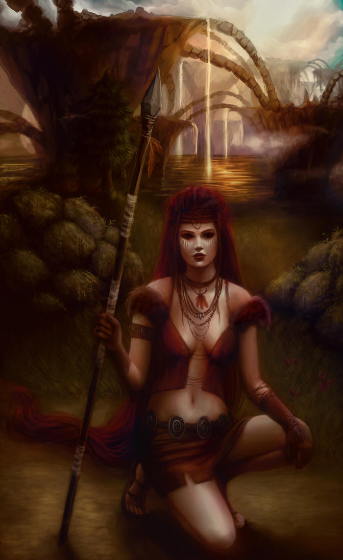 Jungle Warrior by Jennyeight