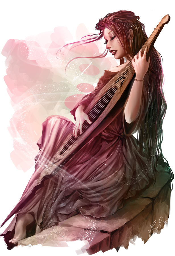 Absorption Harpist_by_jennyeight-d8tbvc0