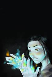 The night she saw blue by kahel