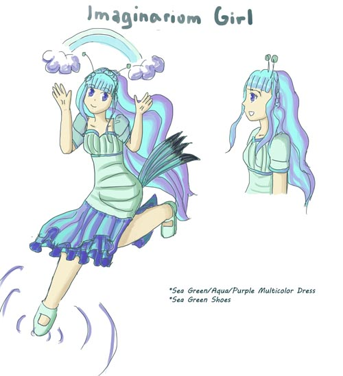 CE: Imaginarium Girl by silente64