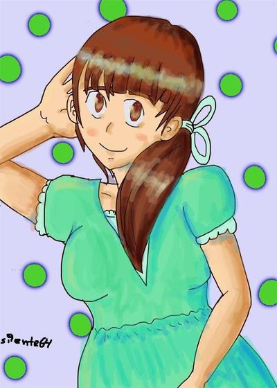 Mint Girl by silente64