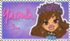 Yasmin Fan Stamp by NiteNitepillow