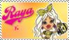 Raya Fan Stamp by NiteNitepillow