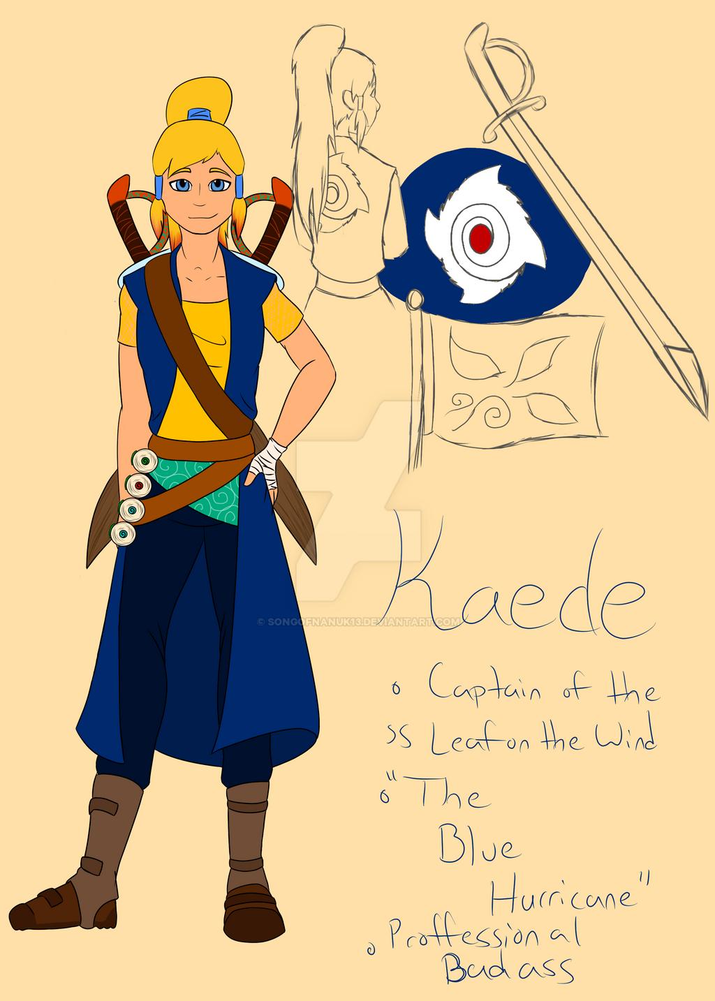 Naruto OC- Kaede by SongOfNanuk13 on DeviantArt